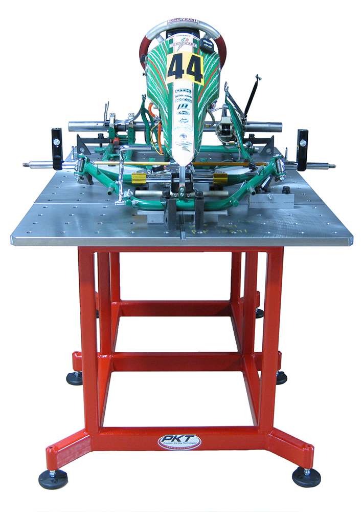 Precision Karting Technologies Store: Chassis Straightening